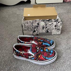 Marvel Spider-Man Vans